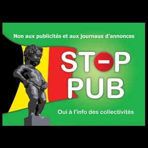STOP PUB «Belgique»