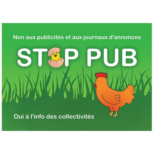 stop pub campagne