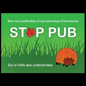 STOP PUB «forêt»