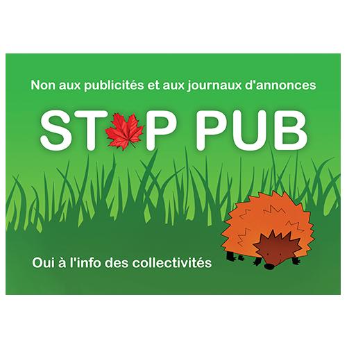stop pub forêt