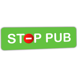 Mini STOP PUB vert